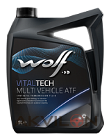 Масло трансм. WOLF VITALTECH 75W80 MULTI VEHICLE 5L WOLF 8303708