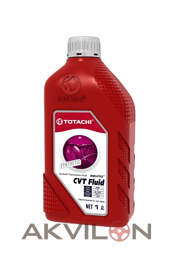 Масло трансм. TOTACHI DENTO CVT Fluid Вариатор Синтетика, 1л TOTACHI 4589904528743