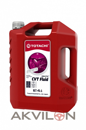 Масло трансм. TOTACHI DENTO CVT Fluid Вариатор Синтетика, 4л TOTACHI 4589904528750